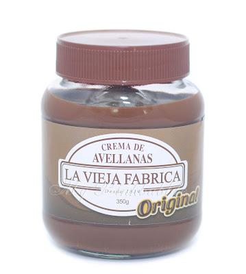 La Vieja fabrica crema de avellanas