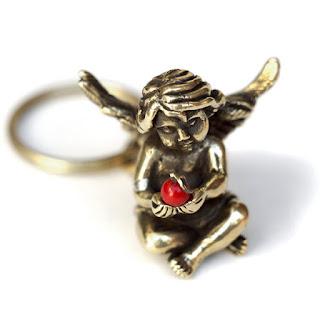 маленькие металлические ангелочки опт купить ювелирные изделия из бронзы ангел хранитель