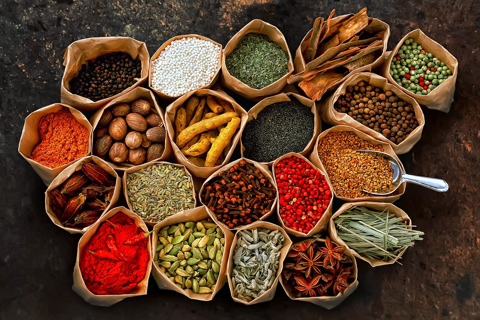 Asian Spices And Herbs 111