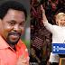 TB Joshua's Prophesy: Hillary Clinton Actually Won US Presidential Election