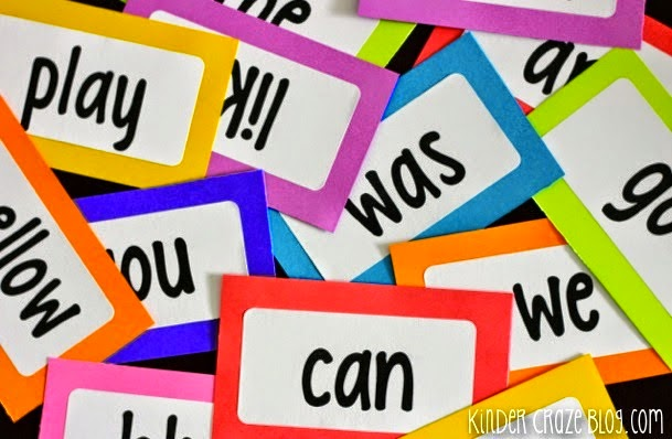 Freebielicious FREE Printable Sight Word Labels