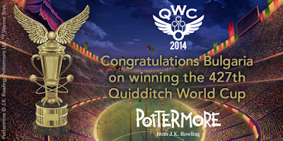 Congratulazioni alla Bulgaria per la vittoria alla 427a Coppa del Mondo di Quidditch!