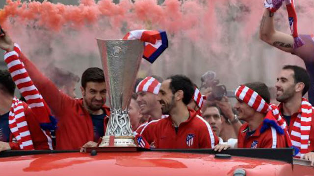 Griezeman and Juanfran made new athletico Madrid  captains