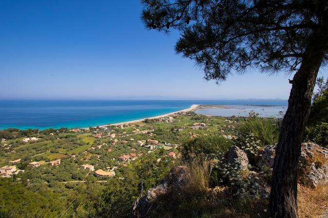 Panorama dal Monastero Faneromeni a Lefkada