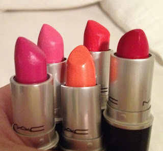 My Favourite MAC lipsticks (at this point in time)