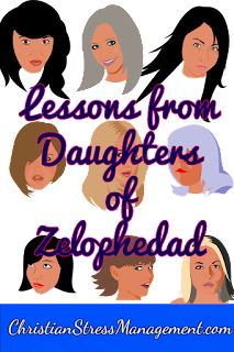 Daughters of Zelophedad Bible study