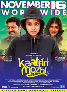 Kaatrin Mozhi First Look Poster 2