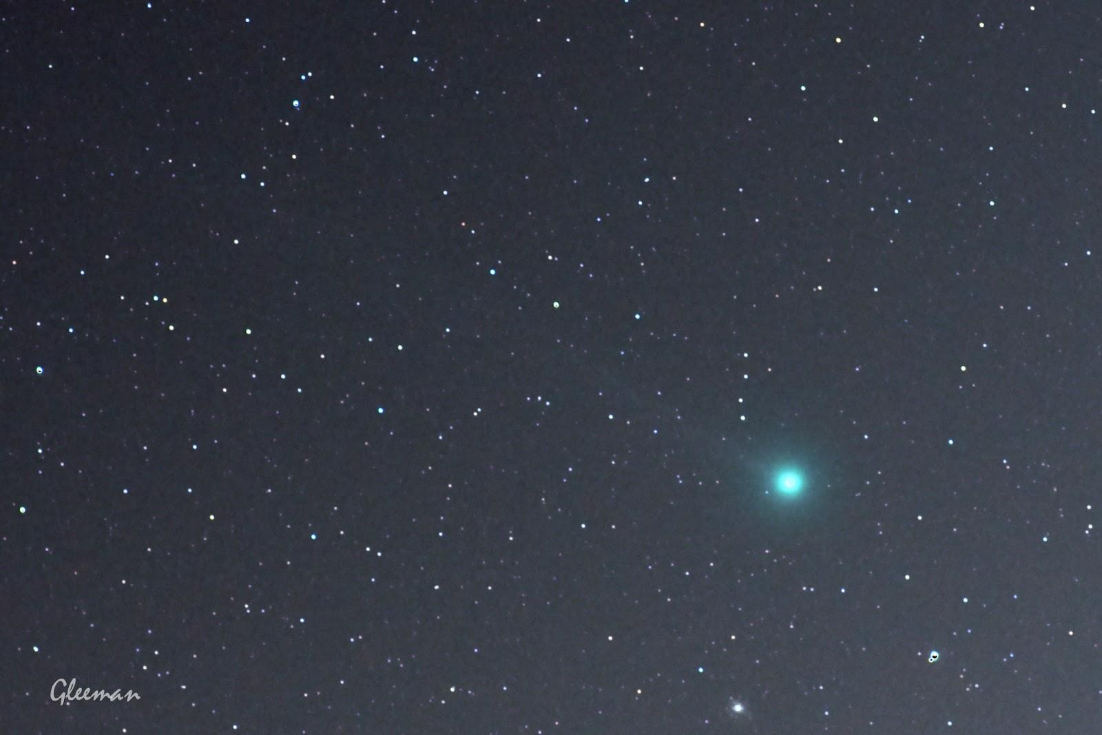 Comet Lovejoy /Pentax K5, O-GPS1 Astrotracer, DA*200 /DeepSkyStacker
