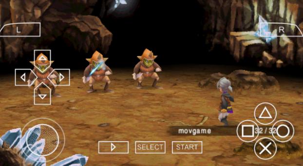 Final Fantasy III PSP