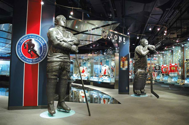 Hockey Hall of Fame em Toronto