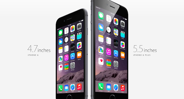 蘋果在去年9月推出iPhone 6、iPhone 6 Plus