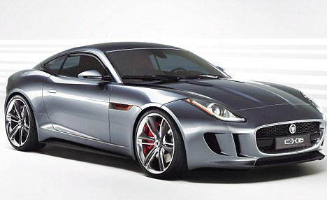 Jaguar f type 2011