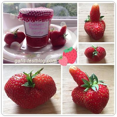 Erdbeermarmelade selbstgemacht
