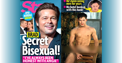 Brad Pitt Secret Bisexual - Star - No Problem Angelina Jolie