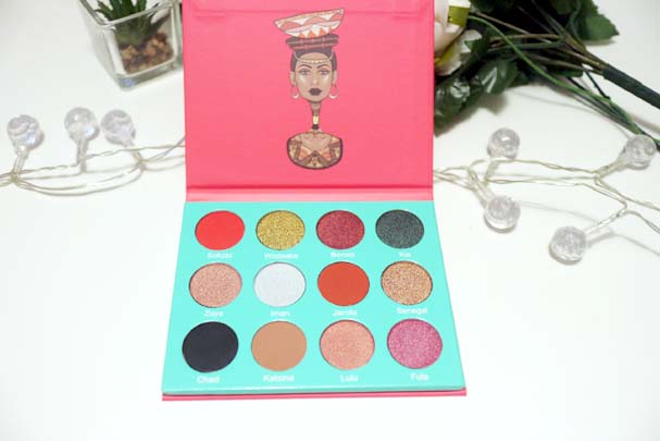 Juvias Place - The Saharan Palette | The Beauty is a Beast