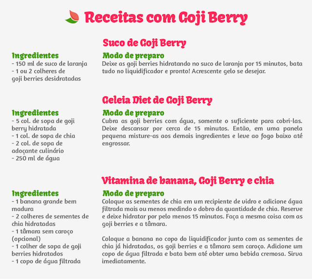 goji berry desidratada