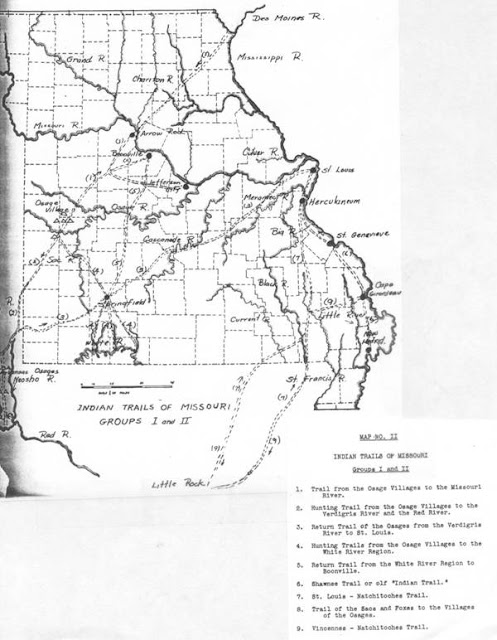 Image Result For Map Of Osage