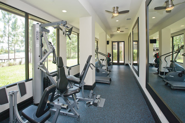Picture of private gym