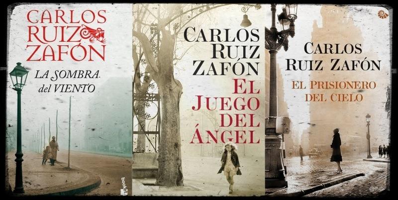 Leyendo En La Costa Trilogía Cementerio De Los Libros Olvidados Carlos Ruiz Zafón