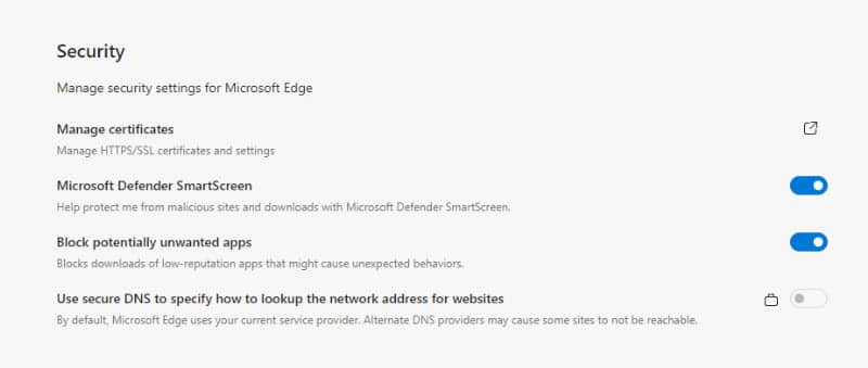 Protect against potentially unwanted applications (PUAs) using Microsoft Edge