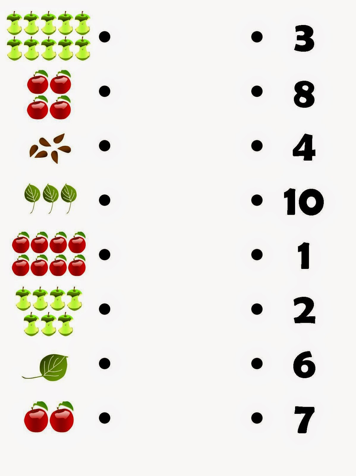 Relentlessly Fun Deceptively Educational Counting Apples