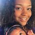 """Juliana Alves faz declaração de amor para a filha e brinca """"muito cabelo"""""""