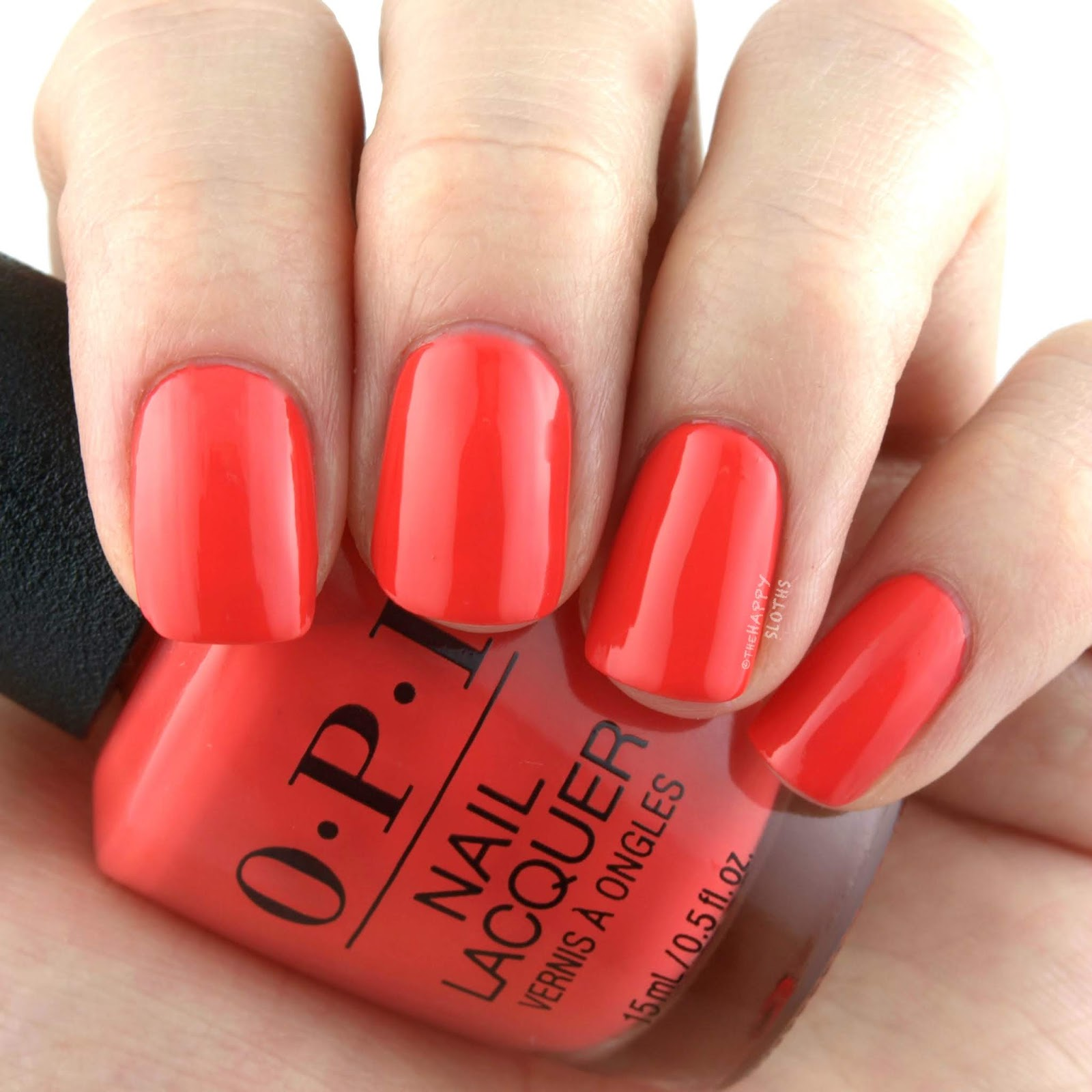 OPI Spring 2019 Tokyo Collection | Tempura-ture is Rising: Review and Swatches