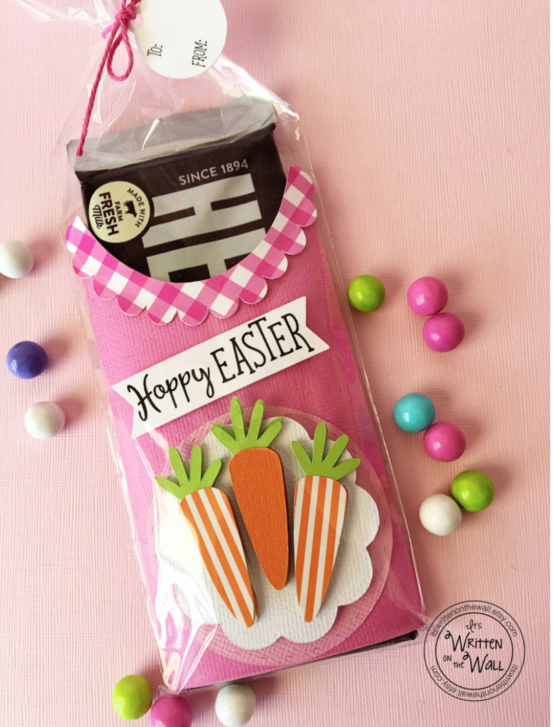 Hoppy Easter Candy Bar Wrapper
