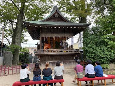 久伊豆神社例祭(令和元年9月28日)