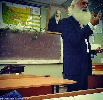 Karl Marx - lustiger alter Mann mit Vollbart