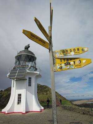 Faro del cabo Reinga, Nueva Zelanda