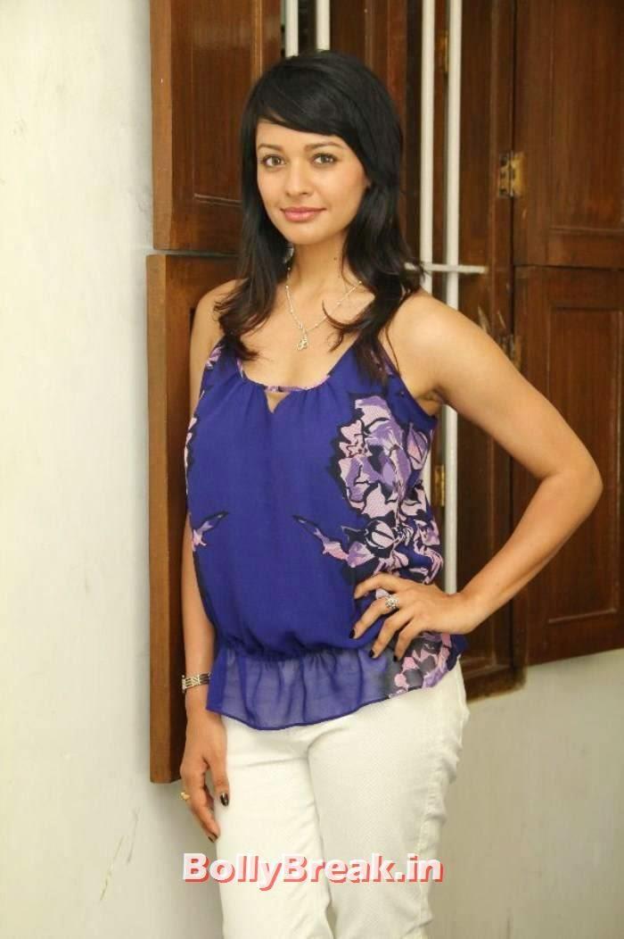Pooja Kumar Unseen Stills, Pooja Kumar Latest hot photoshoot images in dress without sleeves