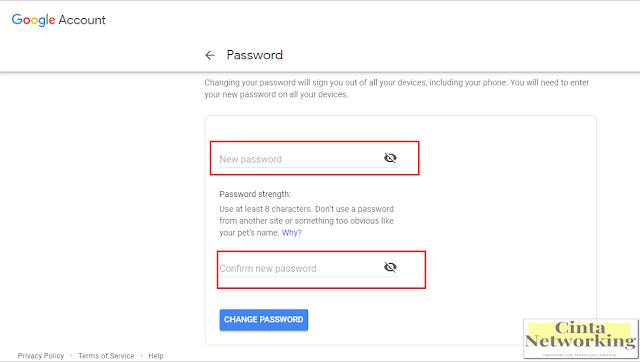 Cara Mengganti Akun Sandi Google Dengan Mudah - Cintanetworking.com
