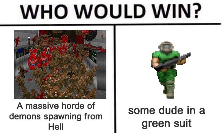 Quem venceria?