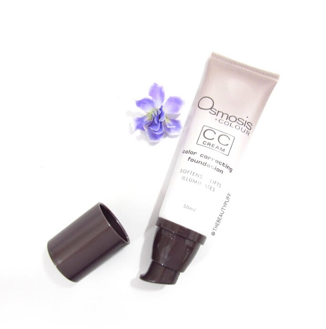 osmosis colour cc cream - the beauty puff