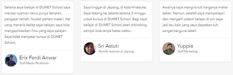 testimoni murid dumetschool 2