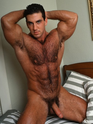 Naked sexy hairy men