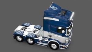 Rangers F.C. Scania RJL skin