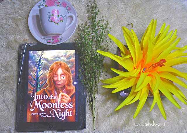 Into the Moonless Night (Moonfall Mayhem #3) by A. E. Decker | ARC | A Book Review by iamnotabookworm!