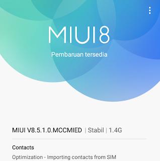 Cara Mematikan Update Handphone Xiaomi Readmi