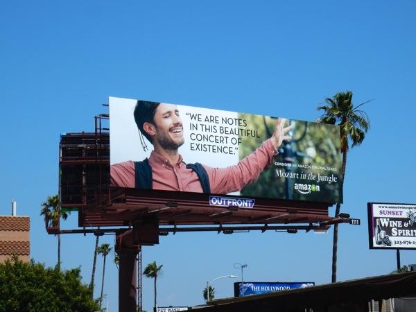 Mozart in the Jungle 2016 Emmy FYC billboard