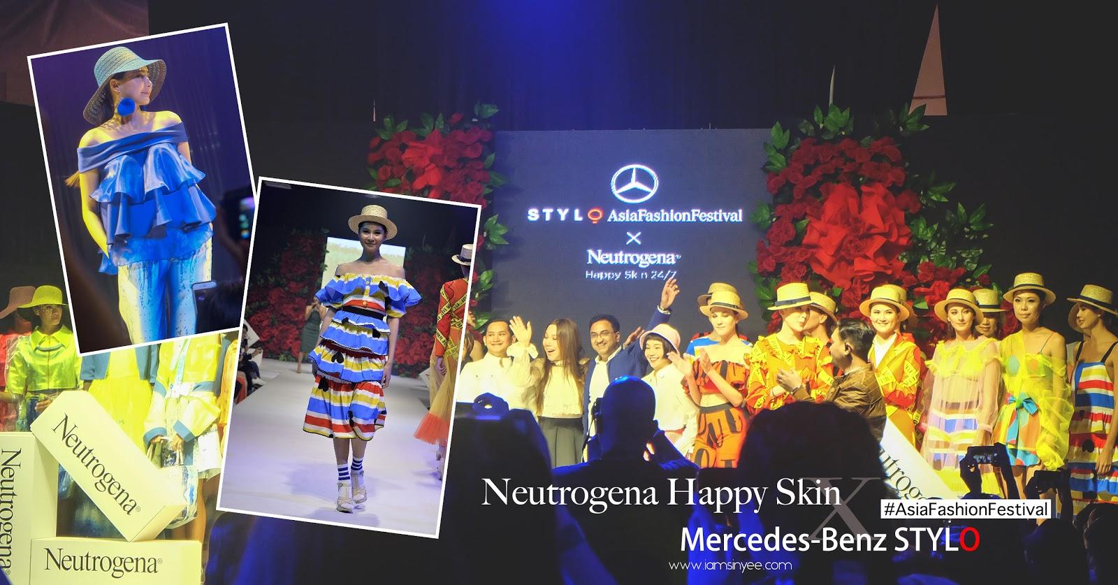 Neutrogena Happy Skin Night X Mercedes-Benz STYLO AsiaFashionFestival - I Am Sin Yee