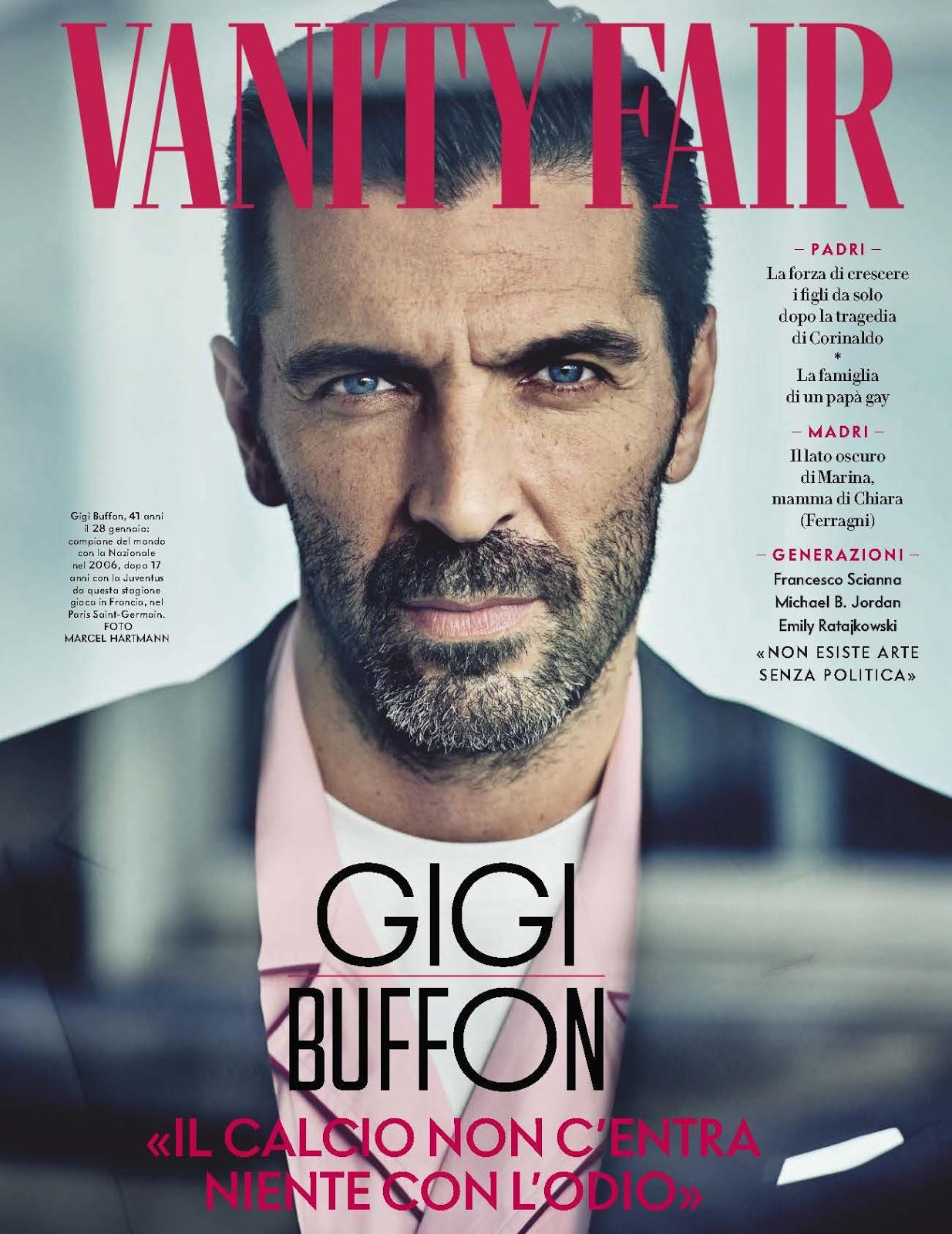 Gianluigi Buffon para Vanity Fair Italia por Marcel Hartmann