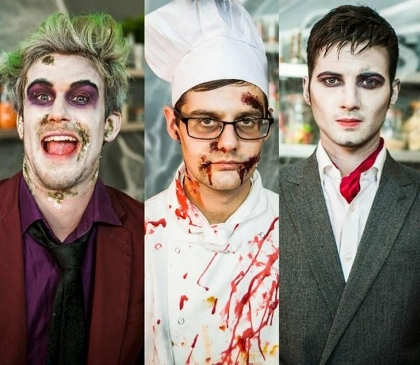 Scary Halloween Makeup Ideas 2017 For Women, Clown, Guys - Happy ...