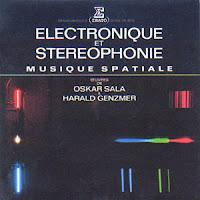 Harald Genzmer y Oskar Sala con su álbum conjunto de composiciones para Mixturtrautonium Électronique Et Stéréophonie: Musique Spatiale de 1972