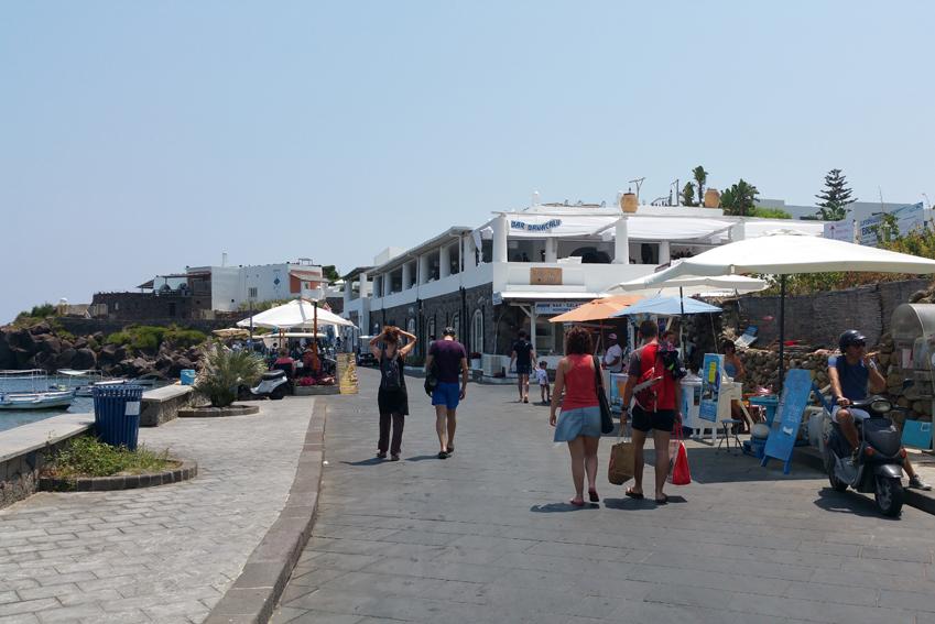 Port w Panarea