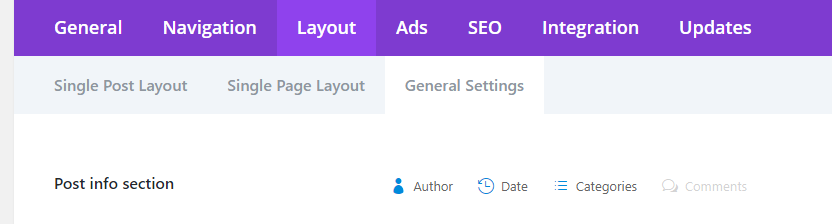 Hide Meta Tags in Divi Theme for blog posts