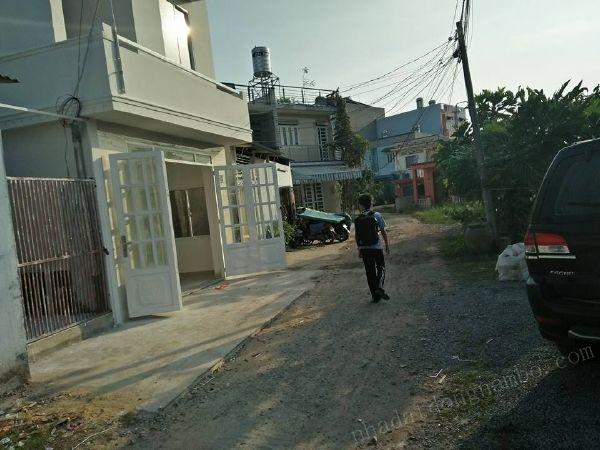 Bán nhà quận Bình Thạnh hẻm xe hơi đường Nơ Trang Long