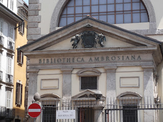 The Bibliotheca Ambrosiana in Milan was one of the first libraries to be open to the public