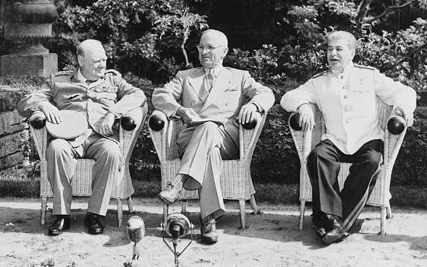 what countries meet at the potsdam conference
